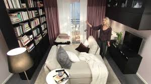 Decorating Ideas For Small Apartment Living Rooms Small Studio Apartment Decorating Ideas Youtube