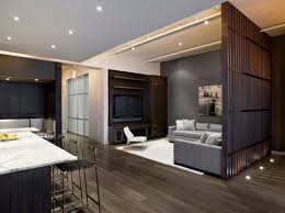 style an open plan living space