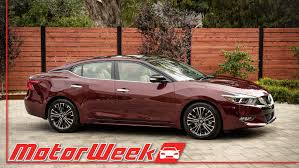 2016 nissan maxima youtube motorweek first look 2016 nissan maxima youtube