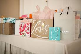 bridal party gift bags pretty bridal shower with pink details in beverly