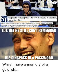 Meme Names And Faces - singapore school pupil sets world record at memory dhruv manoj