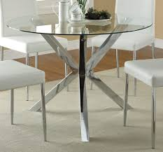 Expandable Dining Room Tables Modern by Dining White Modern Dining Table With Glass Base With Chairs And