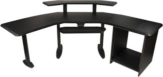 studio rack desk ultimate nucleus studio desk w 2nd tier and rack pssl