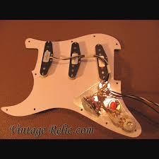 pre wired strat pickguard fender cs texas specials vintage