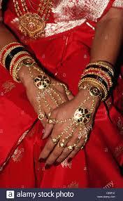 indian in gold bracelets ornaments bangles silk