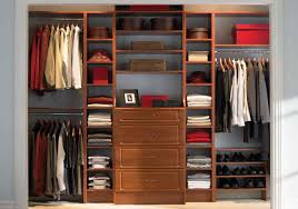 Built In Closet Design by Decoration Attractive Image Of Walk In Closet With Built In