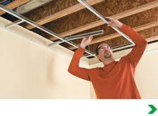 Snapclip Suspended Ceiling System by Ceilings At Menards