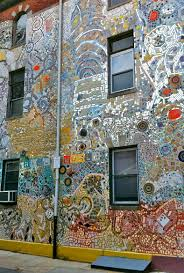 mosaic district map mosaic covering building in philadelphia pa mosaics