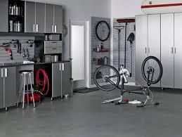 bike workshop ideas furniture modern garage cabinets ideas with gray stainless steel
