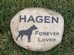 memory stones pitbull memorial headstone grave marker pitbull memory for 8