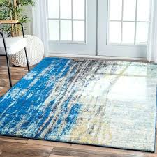 Blue Modern Rug Outstanding Area Rug Blue Classof Co
