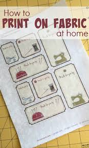 printable fabric tags printing on fabric at home the sewing loft