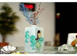 antique glass flower vase home decor online flower pots and vases