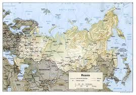 Volga River Map Easteur