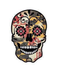 Sugar Skulls For Sale Grunge Maryland Flag Detailed Sugar Skull Series 9 Day Of The Dead