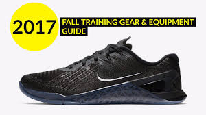 fall 2017 training gear and workout equipment guide