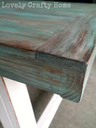 how to create an aged look on new wood for the home pinterest