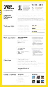 resume html css resume template free download beautiful templates