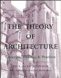 architecture practices the theory of architecture concepts themes practices general