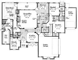 layouts of houses plan 48308fm secret room in the study secret rooms layouts and