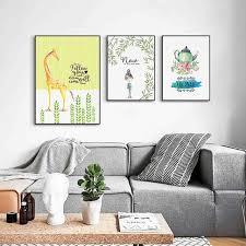 chambre la girafe nordique petit frais robe moderne simple peinture décorative chambre