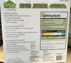 home zone security led motion light security systems costco 962680 home zone security led motion light