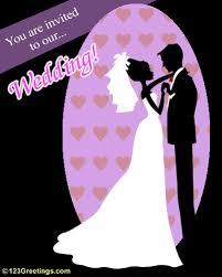 wedding invitations free online an invitation to our wedding free wedding ecards greeting