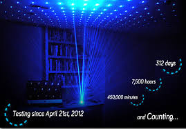 Firefly A Blue Laser Lamp That Fills A Room With Hundreds Of - Bedroom laser lights