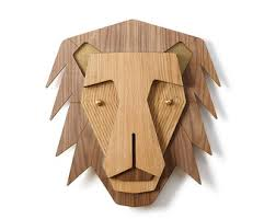 wooden animal wall wooden bull wood wall decor wall decor buffalo