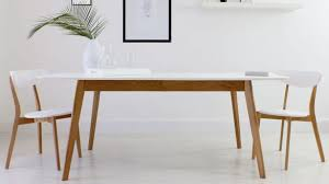 Oak Extending Dining Table And 8 Chairs Luxurious Matt White Extending Dining Table Oak Chrome Legs Uk In