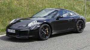 porsche 911 facelift porsche 911 facelift spied without camo 26 pics