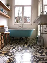 patterned tile bathroom patterned tiles floors i saw and liked decorator s notebook