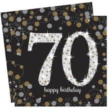 gold celebration paper napkins 70 ref 14604 description take