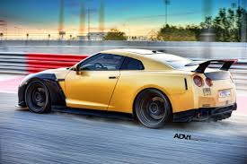 nissan gtr matte blue gold carbon ams nissan gt r with adv 1 wheels gtspirit