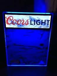 bud light light up sign light up dry erase board plus hottest led advertising digital