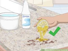 How To Install Corian Countertops 3 Ways To Maintain A Corian Countertop Wikihow