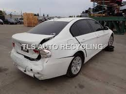 2006 white bmw 325i parting out 2006 bmw 325i stock 5186bk tls auto recycling