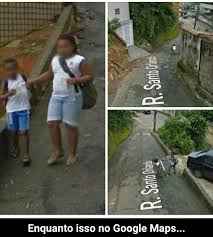 Google Maps Meme - no google maps tem minha vó voltando da padaria meme subido por