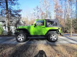 commando green jeep lifted 14 56 coil boost advise jeep wrangler forum