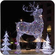 large outdoor reindeer light large outdoor