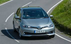 car toyota toyota auris revealed britain u0027s 15 best family hatchback cars