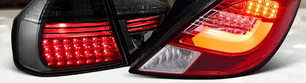 custom car tail lights custom tail lights for cars trucks led black euro carid com