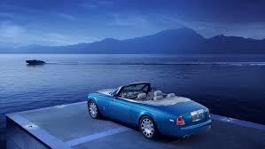 rolls royce phantom blue rolls royce phantom drophead coupé waterspeed collection press kit