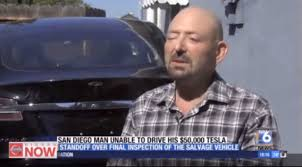 buying a crashed tesla model s damage risk safety salvage and