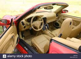 convertible porsche red car porsche 911 carrera turbo convertible model year 2003 red