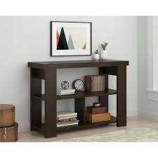 Sofa Table Convenience Concepts Newport Console Table With Shelf Espresso