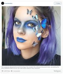 Butterfly Halloween Makeup by Halloween Make Up With Mua Winning Moments