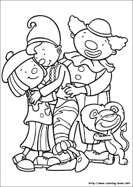 circus coloring picture