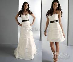 two wedding dresses discount cheap two detachable skirt wedding dresses a line