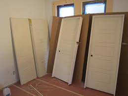 modern white masonite interior door